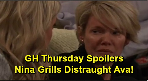 General Hospital Spoilers: Thursday, December 5 – Nina Grills Traumatized Ava, Cassadine Ring Discovery – Cellmates Nelle and Sam Spar