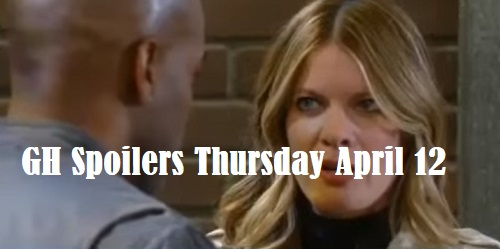General Hospital Spoilers: Thursday, April 12 – Nina Learns Peter Secret – Sonny's Fears Grow – Michael And Maxie Share Moment