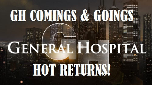 General Hospital Spoilers: Comings and Goings – Hot Returns Shake Things Up – Exciting New Show for GH Star