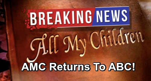 General Hospital Spoilers: All My Children Stars Reunite - AMC Special Return To ABC