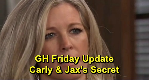 General Hospital Spoilers: Friday, December 13 Update – Carly & Jax's Secret Enrages Sonny – Charlotte Identifies Nik – Ava Under Suspicion