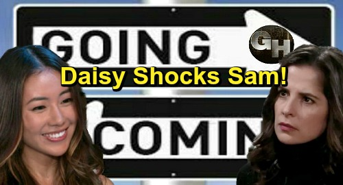 General Hospital Spoilers: Comings and Goings – Kelsey Wang Back as Daisy, Sam Gets a Shock – Two Fan Faves Back on Screen