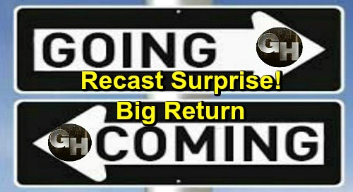 General Hospital Spoilers: Comings and Goings – Big Return and Surprise Recast News – GH Star's New Primetime Gig