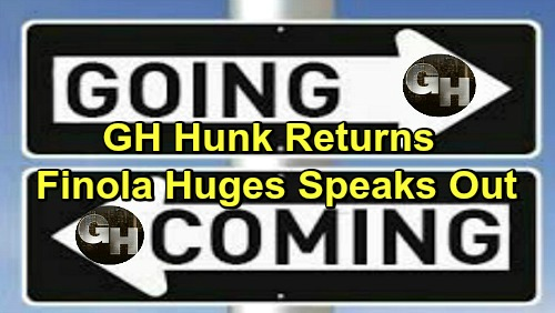 General Hospital Spoilers: Comings and Goings – Finola Hughes Reveals Alex Return Shockers – GH Hunk Back for More Scenes