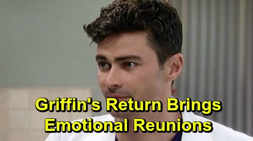 General Hospital Spoilers: Griffin's Return Brings Port Charles Reunions – Reconnects with Anna, Visits Ava and Delivers Lucas' Miracle