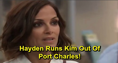 General Hospital Spoilers: Devastated Kim Must Accept Franco Isn't Her Man – Hayden Runs Liz's Competition Out of Town