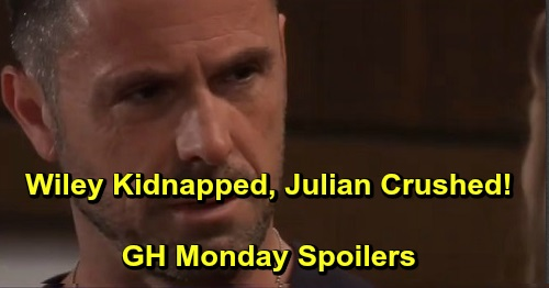 General Hospital Spoilers: Monday, September 23 – 'Wiley' Kidnapped by Shiloh – Julian Crushed by Kim's Betrayal – Sam's Urgent Mission