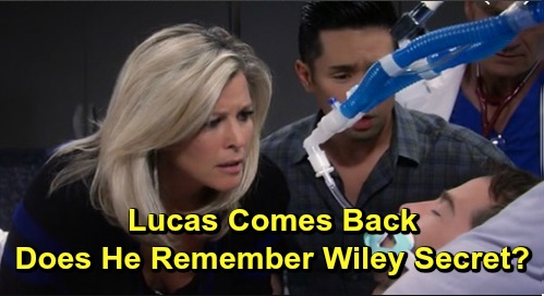 General Hospital Spoilers: Lucas Comes Back to Brad, Moment of Truth Follows – Does Lucas Remember Shocking 'Wiley' Confession?