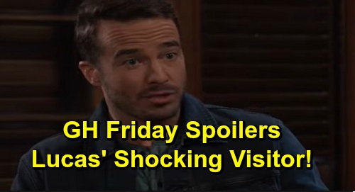 General Hospital Spoilers: Friday, November 8 – Lucas' Ghostly Visit – Jax's Confession Infuriates Ava – Jason's Unsettling News