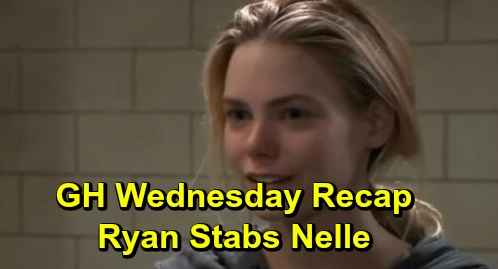 General Hospital Spoilers: Wednesday, December 11 Recap - Ned Confronts Brook Lynn - Sonny's In Denial About Mike - Ryan Stabs Nelle