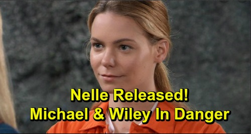 General Hospital Spoilers: 'Wiley' at Risk Thanks to Crazy Nelle's Release – Daddy Michael's a Target, Carly Outraged Over Freedom?