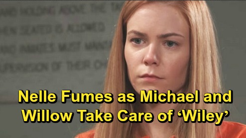 General Hospital Spoilers: Nelle Fumes as Michael and Willow Take Care of 'Wiley' After Crash – Raises New Cellmate Sam's Suspicions