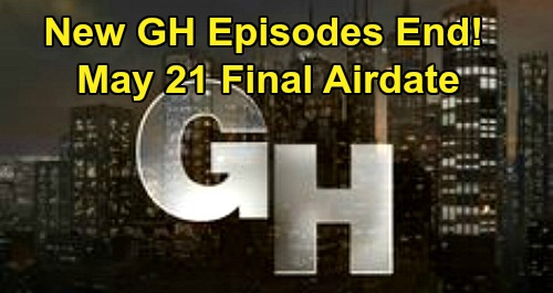 General Hospital Spoilers: Final New GH Episode Airdate May 21 – Nurses Ball Classics to Air Instead of Original Shows