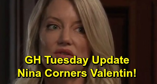 General Hospital Spoilers: Tuesday, October 15 Update – Carly's Morgan Guilt – Jason Fights for Justice – Nina Wants Valentin's Honesty