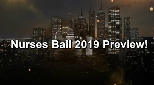 General Hospital Spoilers: Nurses Ball 2019 Preview – First Look at All the Hot Secrets and Shockers