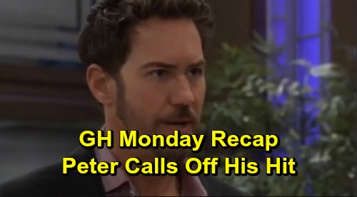General Hospital Spoilers: Monday, December 9 Recap - Memory Procedure Begins - Peter Tries To Call Off His Hit On Franco & Andre - Nina Begs Ava To Join Forces