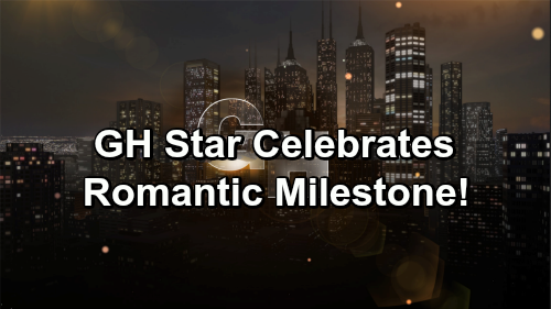 General Hospital Spoilers: GH Star Celebrates Big Romantic Milestone