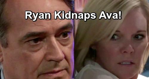 General Hospital Spoilers: Desperate Ryan Kidnaps Ava - It's Kill or Be Killed For Kiki's Mom?