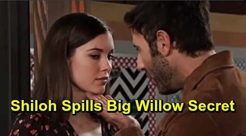 General Hospital Spoilers: Shiloh Spills Big Willow Secret - Reveals She's Not Harmony's Daughter
