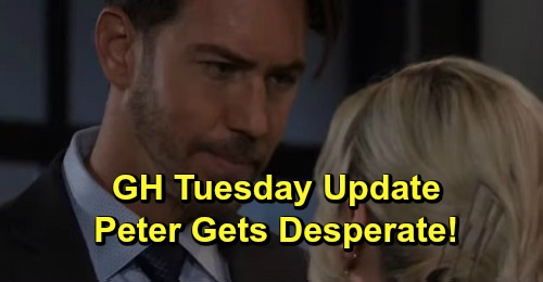 General Hospital Spoilers: Tuesday, September 24 Update – Sam and Dev Fear Shiloh's Next Move – Brad Blames Himself – Peter's Desperate