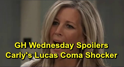 General Hospital Spoilers: Wednesday, December 4 – Lucas Coma Shocker for Carly and Bobbie – Violet's Crushing News – Nikolas Stuns Ava