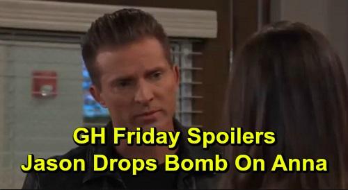 General Hospital Spoilers: Friday, December 13 – Jason Drops Bomb on Anna – Nina Gets Horrifying News – Liz Thanks Guilty Peter