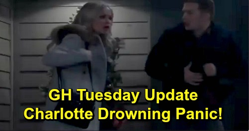 General Hospital Spoilers: Tuesday, December 17 Update – Charlotte Drowning Danger Sparks Panic, Lulu Calls 911 – Ava Faces Fire Suspicions