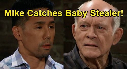General Hospital Spoilers: Mike Accuses Baby-Stealer Brad - Overhears 'Wiley' Confession To Lucas At Turning Woods?
