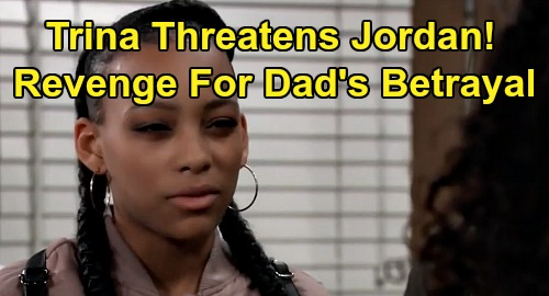 General Hospital Spoilers: Trina Threatens Jordan with Prison – Seeks Revenge For Taggert Betrayal & Cyrus' Release?