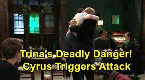 General Hospital Spoilers: Trina in Danger, Taggert's Past With Cyrus Triggers Attack – Father-Daughter Drama Explodes