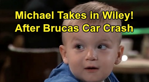 General Hospital Spoilers: Michael Takes in 'Wiley' After Brad & Lucas Car Crash – Unknowingly Reunites with Son for Christmas?