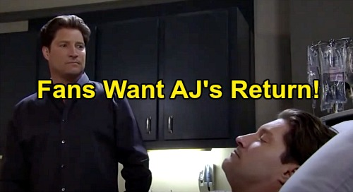 General Hospital Spoilers: Sean Kanan Speaks Out About AJ Quartermaine's Emotional Final Episode – GH Fans Call for AJ's Return