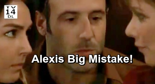 General Hospital Spoilers: Alexis' Big Mistake, Supports Kristina At DOD - Enables Cult To Brainwash Daughter