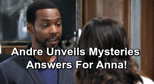 General Hospital Spoilers: Anna Grills Andre About Alex - Unlocks The Mystery of Peter's Conception and Birth