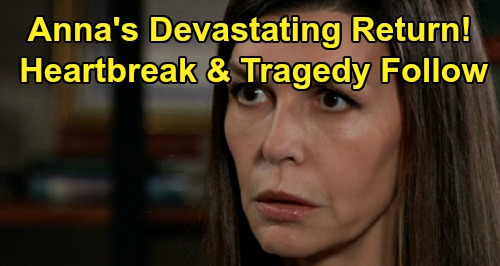 General Hospital Spoilers: Anna's Return Leads To Heartbreak and Tragedy – Major Drama Brewing for Finn, Hayden and Peter