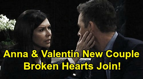 General Hospital Spoilers: Brokenhearted Valentin & Anna Come Together – Couple Find Love in a Hopeless Place?