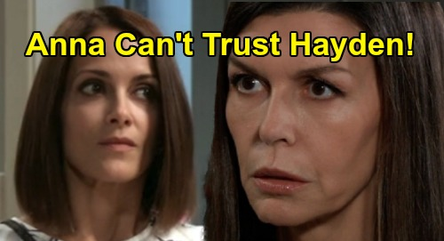 General Hospital Spoilers: Anna Can't Trust Hayden - Stella's Back with Big News – Ned Resurfaces with Suspicions - Comings and Goings