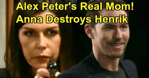 General Hospital Spoilers: Anna Poised To Destroy Peter - Rips Away Maxie & Reveals Alex As Peter's Real Mother?