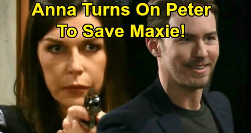 General Hospital Spoilers: Anna Forced to Blow Up Peter's World – Saves Maxie After Clues Lead to Horrifying Secrets?