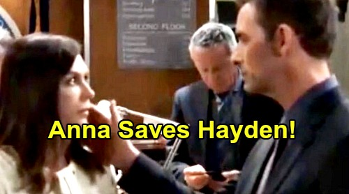 General Hospital Spoilers: Valentin Threatens Hayden – Anna Saves Violet's Mom, Protects Her Rival For Finn's Love?