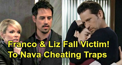 General Hospital Spoilers: Liz & Franco Victims of Nikolas & Ava Cheating Traps - 'Nava' Triggers Infidelity Clause Divorce