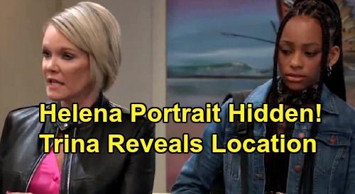 General Hospital Spoilers: Helena's Portrait Hidden by Ava - Trina Reveals Location, Nikolas Mayhem Breaks Loose?