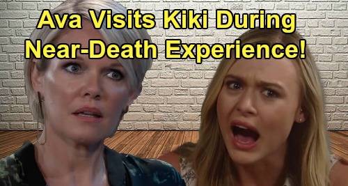 General Hospital Spoilers: Ava's Near-Death Experience Takes Her to Kiki in the Beyond – Ryan's Deadly Plot's Silver Lining?