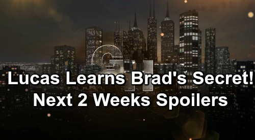 General Hospital Spoilers Next 2 Weeks: Lucas Explodes Over Brad's Secret – Carly's Baby Gender - Sasha Busted - Alex is Back