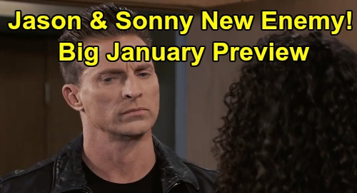 General Hospital Spoilers: Big January Preview - Jason & Sonny's Surprise Enemy - Nik Faces Trouble - Ava's Sweet Revenge