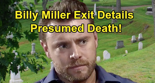 General Hospital Spoilers: Billy Miller New Exit Details – Shiloh Showdown and Presumed Death, Hero Drew's Ultimate Sacrifice?