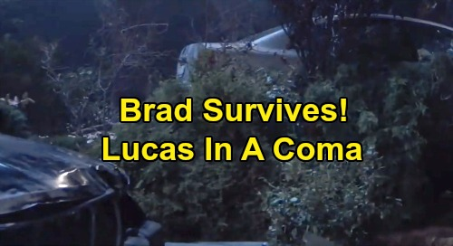 General Hospital Spoilers: Brad Survives Crash – Carly Calls Dr. Griffin Munro, Returns to Save Comatose Lucas