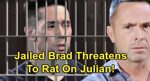 General Hospital Spoilers: Brad's Jail Threat – Find a Lawyer to Beat Charges or Julian's Going Down With Him