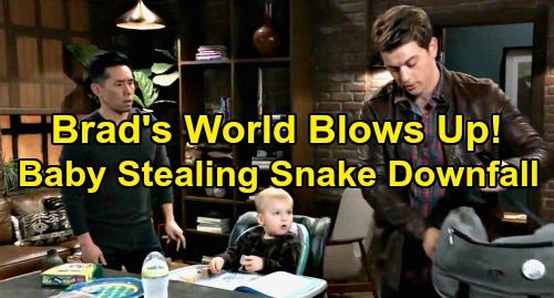 General Hospital Spoilers: Brad's World Blows Up, Baby-Stealing Snake Gets What He Deserves – Devastating Retribution