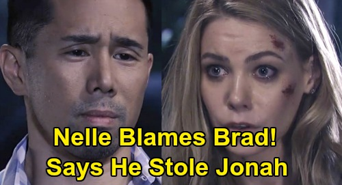 General Hospital Spoilers: Nelle Lies That Brad Stole Jonah – Claims She Was Unconscious During Baby Swap